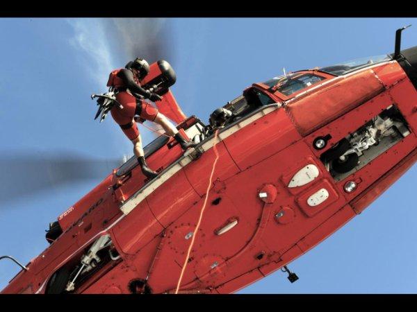 hh65 dauphin coast guard