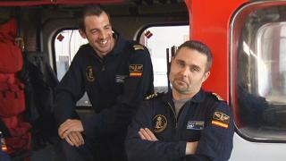 La tripulación del Helimer cuenta cómo fue el rescate de los naufragos del «O Busi».