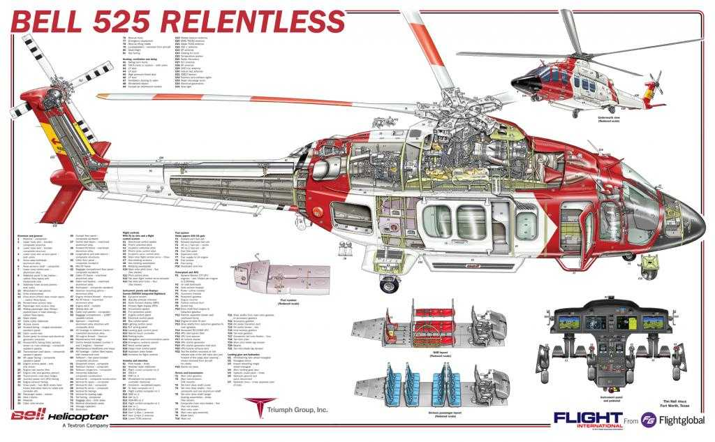 Bell 525 Relentless SAR