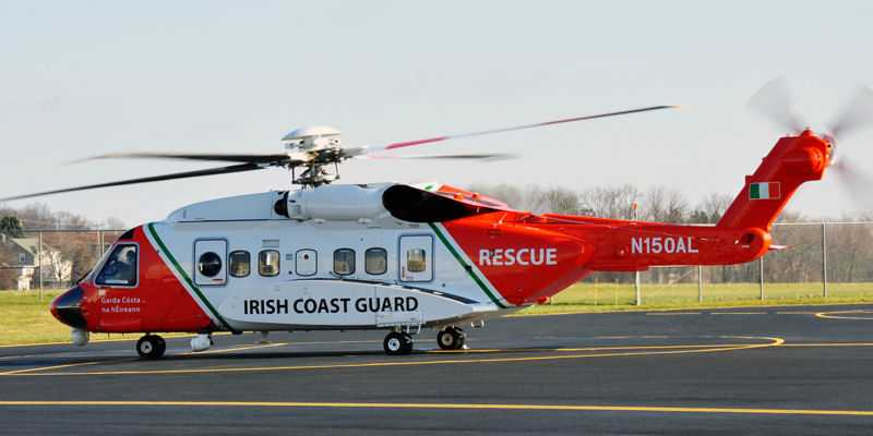 Irish Coast Guard S-92